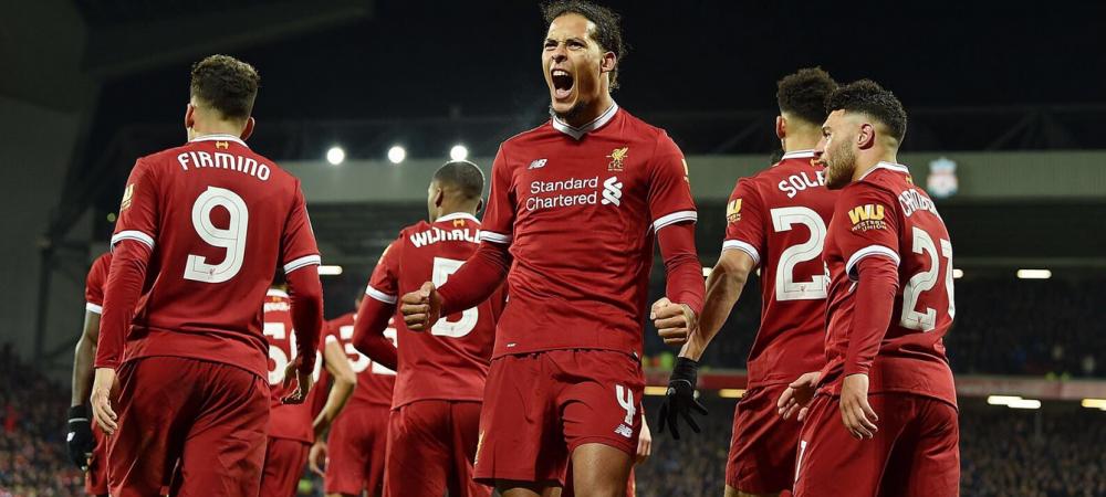 Debut FANTASTIC pentru cel mai scump fundas din istorie! Van Dijk a salvat-o pe Liverpool in minutul 84! VIDEO