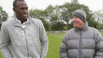 "Usain Bolt l-a sunat pe Ferguson: ""Alo? Ajuta-ma sa joc la Manchester United!"" Ce raspuns a primit"