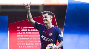 Neymar a facut MISTO de Coutinho dupa prezentarea la Barcelona! Ce mesaj i-a transmis pe internet starul lui PSG