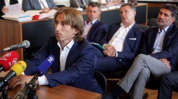 Libertate pentru o suma... modica :) Cat a platit Luka Modric pentru a scapa de inchisoare in Spania