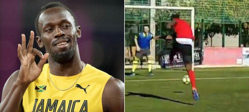 Usain Bolt da probe de joc la o finalista a Ligii Campionilor! Anunt incredibil al celui mai rapid om din lume in ultimul deceniu