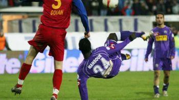 """Mansour """"Omul-foarfeca"""" revine in fotbalul romanesc la 32 de ani! Cu cine se pregateste senegalezul"""
