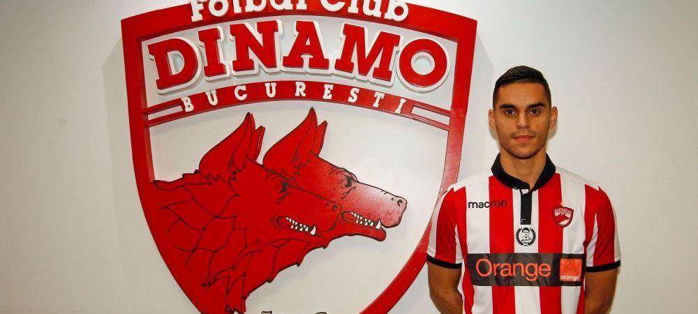"""OFICIAL   Dinamo si-a prezentat prima achizitie a iernii! Fotbalisul adus sa ii ajute pe """"caini"""" sa prinda Play Off-ul"""