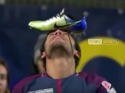 Imaginea inceputului de an: cum a ajuns Neymar sa isi celebreze golul in felul asta! VIDEO