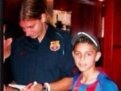 """Ii recunosti? :) Peste ani, acest pusti avea sa-i """"fure"""" sotia! Messi """"l-a interzis"""" la nationala pentru gestul sau"""