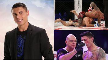 """Fabulos! """"Hristiano Ronaldov"""" al Bulgariei, sosia starului de la Real, s-a lasat de fotbal si a intrat in cusca de MMA! Ce a facut la primul meci"""
