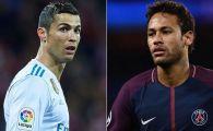 Schimbul incredibil propus de Florentino Perez: Ronaldo plus BANI pentru Neymar. Cum a raspuns seicul lui PSG
