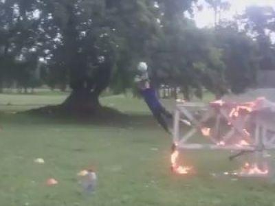 VIDEO | Imaginile saptamanii! Clipul care face senzatie pe internet: abia asta inseamna antrenament de foc :)