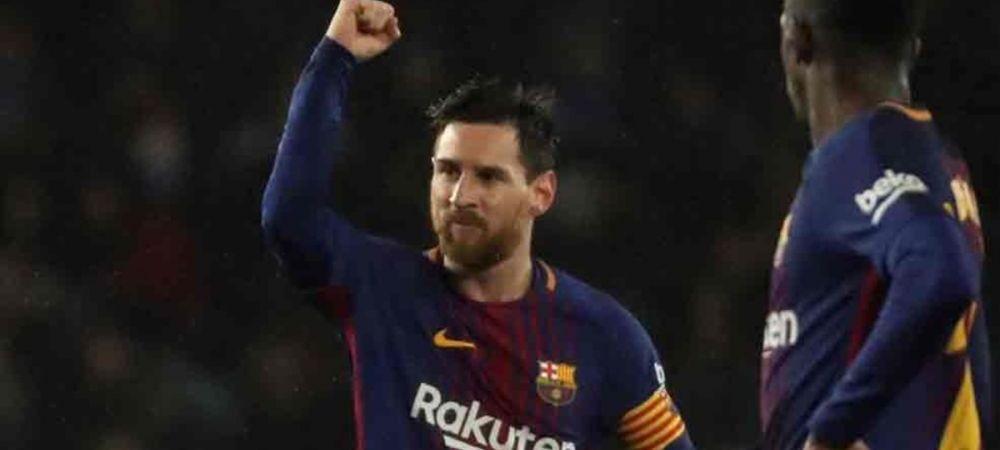 De asta se spune ca e cel mai bun din ISTORIE! Un nou record FABULOS stabilit de Messi pentru Barca