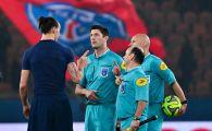Arbitrul care a facut praf Nantes - PSG nu e la prima iesire bizara. Ce i-a facut lui Ibrahimovic