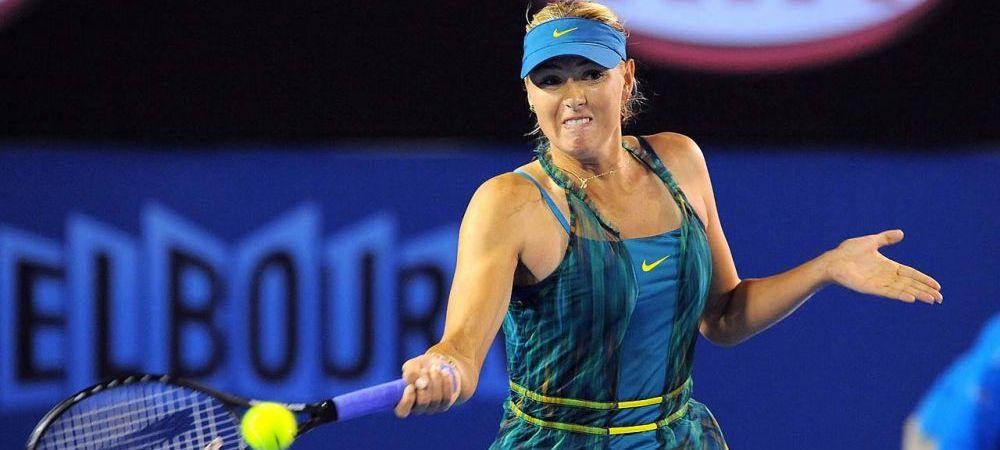 Revenire spectaculoasa pentru Sharapova, in locul unde a fost prinsa dopata! Si Kerber s-a calificat! TOATE REZULTATELE Australian Open