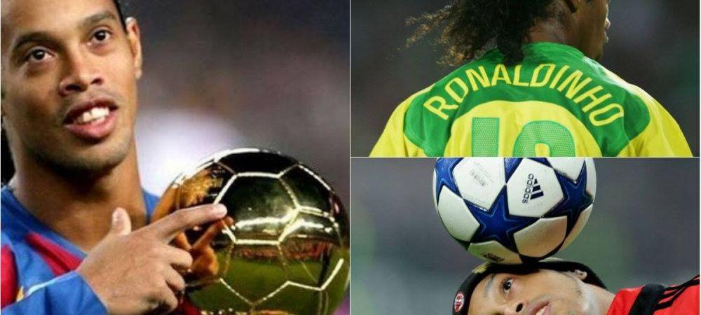 """E OFICIAL   """"S-a oprit! S-a terminat!"""" Era fotbalului cu zambetul pe buze a ajuns la final: Ronaldinho s-a retras"""