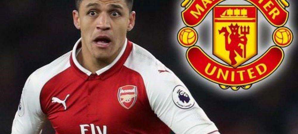 Cifrele monstruoase ale transferului lui Alexis: United va plati in total peste 200 de milioane de euro