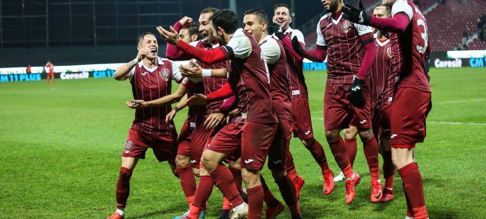 Victorie la scor pentru CFR-ul lui Petrescu in primul amical al iernii! Costache a marcat primul sau gol, Hoban a inscris din FOARFECA