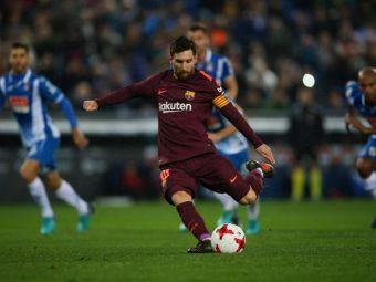 Surpriza in Spania: prima infrangere dupa 5 luni pentru Barcelona! Messi a ratat penalty! VIDEO