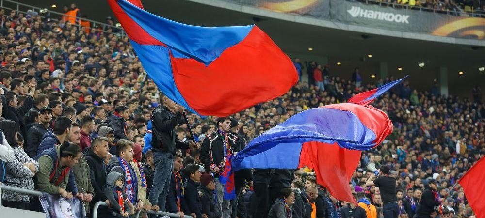 Steaua a scos la vanzare biletele pentru partida cu Lazio de pe National Arena care va fi in direct la Pro TV! Cel mai ieftin tichet este 40 de lei