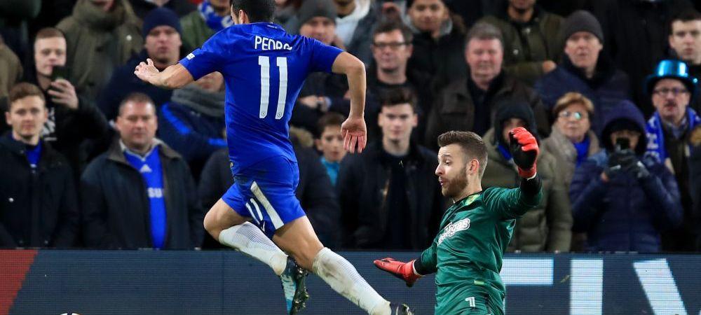 """F*** off, Pedro!"" Moment socant in Cupa Angliei! Jucatorul lui Chelsea a fost injurat in direct dupa o faza ridicola! VIDEO"