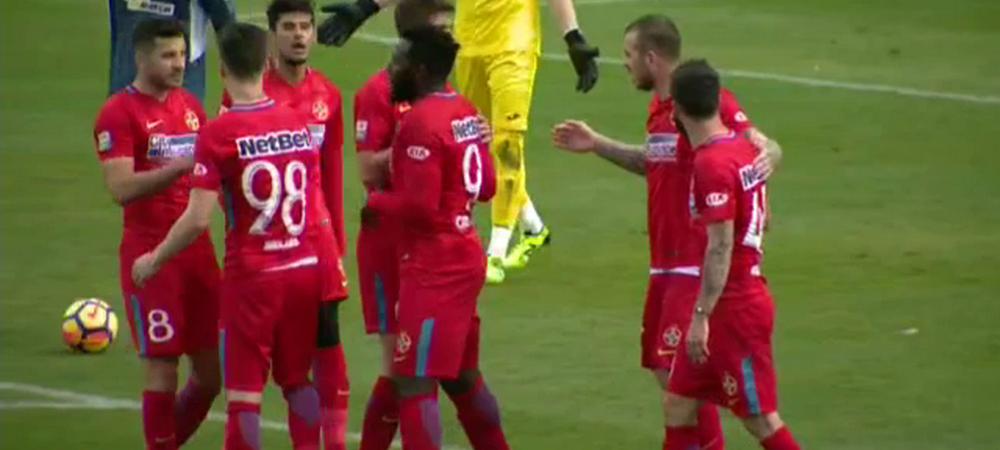 Steaua 1-2 Olimpik Donetsk, primul amical din Antalya! Toate fazele VIDEO sunt aici! Man a inscris, Alibec ELIMINAT dupa ce si-a STRANS de gat un adversar!