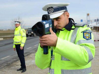 Politistii din Buzau au oprit o masina care mergea cu 130 km/h in localitate! Socul avut in momentul in care au vazut cine se afla la volan