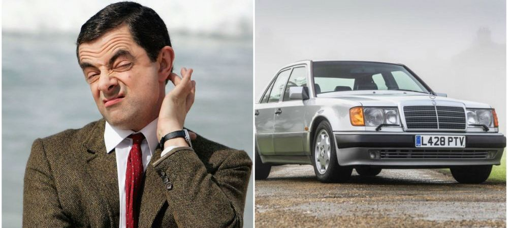 Mr. Bean si-a scos la vanzare masina pe care Mercedes i-a construit-o manual!