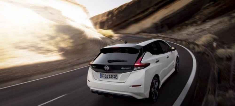 TEST: cum se conduce electrica Nissan cu autonomie de 415 km in oras
