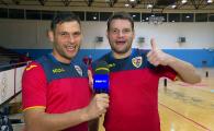"""Fratii care pot duce Romania in finala Euro la futsal: """"Toata ziua ne certam pe teren!"""" Cu ce echipe tin"""