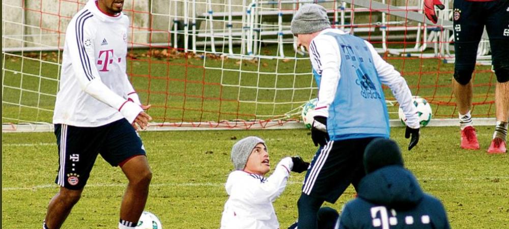 James Rodriguez, la un pas sa fie LUAT LA BATAIE in timpul antrenamentului lui Bayern! Ce s-a intamplat