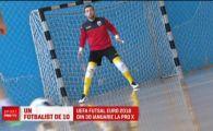 Golgheterul Romaniei la futsal e gata sa intre in ISTORIE! Mimi Stoica promite un turneu MARE pentru nationala