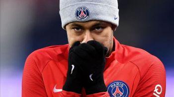 Neymar, DISPARUT din nou din lotul lui PSG! Mesajul misterios al brazilianului, dupa ce a fost acuzat ca e angajat PART TIME!