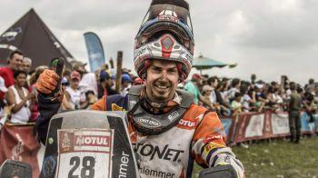 Un roman, intre cei mai buni din lume! Mani Gyenes, locul 23 in raliul de la Dakar! Carlos Sainz a castigat pentru a doua oara!