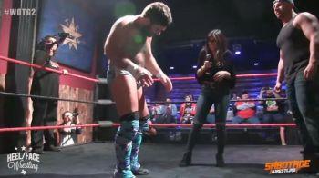 Cea mai cunoscuta starleta din filmele XXX a intrat in ringul de wrestling! Ce s-a intamplat mai departe