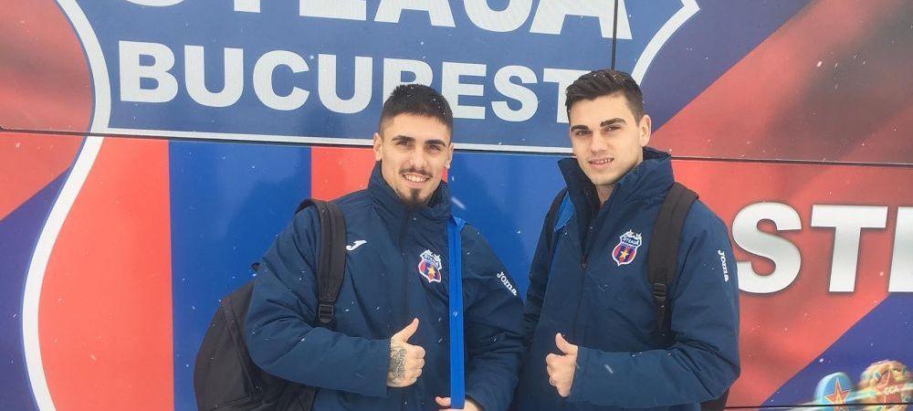 CSA Steaua a transferat un fotbalist-frizer! Al treilea sosit al iernii a lasat scaunul de la salon si a plecat in cantonamentul de la Forban