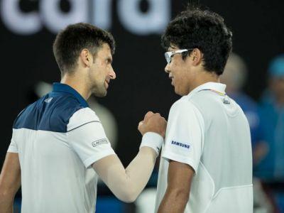 "AUSTRALIAN OPEN / ""Cand eram mic, visam sa ajung ca Djokovici!"" Declaratia zilei de la ""copilul"" care si-a invins azi idolul"