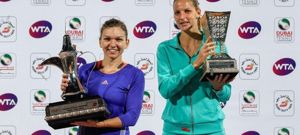 """SIMONA HALEP - KAROLINA PLISKOVA // Ce spune Pliskova despre sfertul cu Simona: """"Incerc sa nu ma gandesc la asta!"""""""