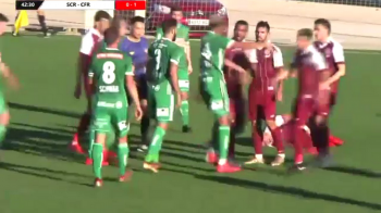 BATAIE GENERALA la amicalul CFR-ului din Spania! Costache a marcat, Deac plin de nervi! VIDEO