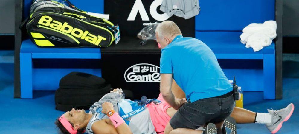 AUSTRALIAN OPEN / Nadal s-a accidentat si a fost nevoit sa abandoneze! Cine joaca prima semifinala