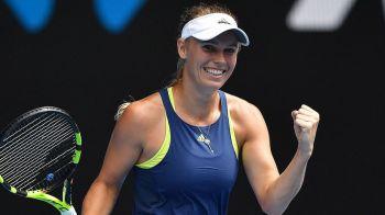 AUSTRALIAN OPEN // Caroline Wozniacki, in semifinale! A trecut in trei seturi de Carla Suarez Navarro si ameninta pozitia de lider a Simonei