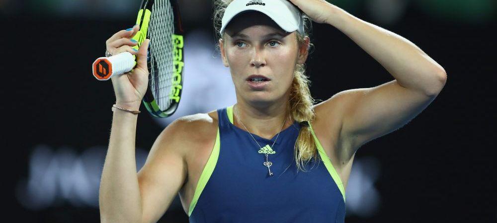 """AUSTRALIAN OPEN // Reactia Carolinei Wozniacki, dupa califcarea in semifinale: """"O sa fie greu"""" Adversara ei, neinvinsa in 2018!"""