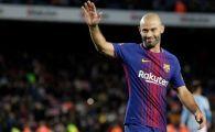 FC Barcelona a facut anuntul OFICIAL: Mascherano pleaca de la Barca dupa 8 ani! Momentul special pregatit inainte de partida de Cupa