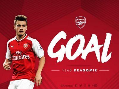 VLAD DRAGOMIR, ARSENAL // GOOOOOL Dragomir! Pustiul roman a facut un meci fenomenal pentru Arsenal cu BAYERN: GOL si PASA DE GOL