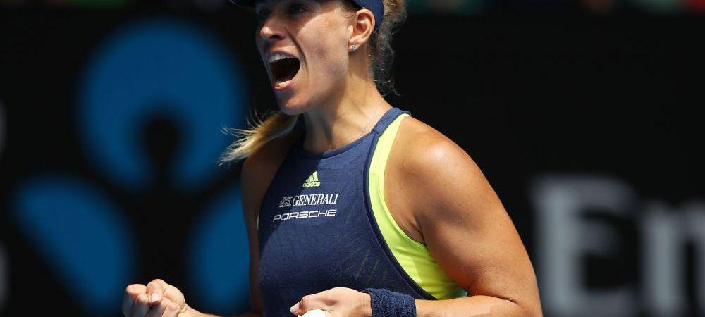 """SIMONA HALEP - ANGELIQUE KERBER, SEMIFINALE AO // """"Stancuta"""" Simona, in fata specialistei pe hard. Kerber are in palmares doua titluri de Grand Slam si o finala pierduta"""
