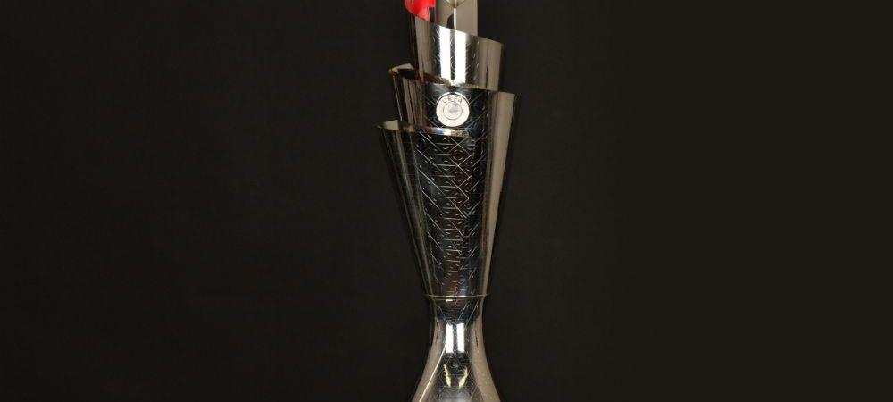 UEFA a anuntat cum arata trofeul si care e imnul oficial Nations League! VIDEO