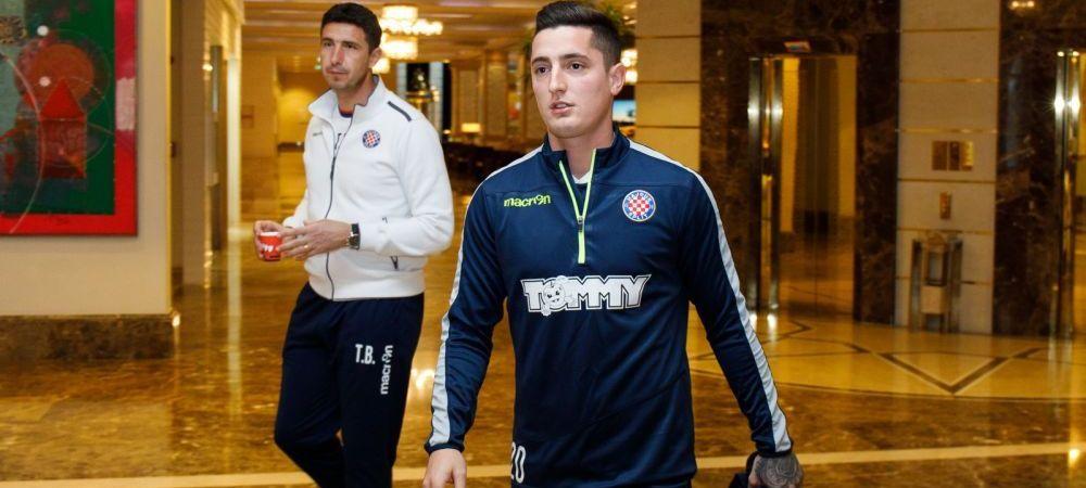 "OFICIAL! Steliano Filip a plecat de la Dinamo: ""E un pas inainte in cariera mea!"" Ce numar va avea la Hajduk"