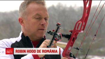 El este Robin Hood din Romania! Cum a profitat de zapada fostul campion la tir cu arcul