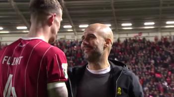 Guardiola a crezut ca nu aude bine: un jucator a venit la el sa faca schimb de tricouri! Care a fost reactia VIDEO