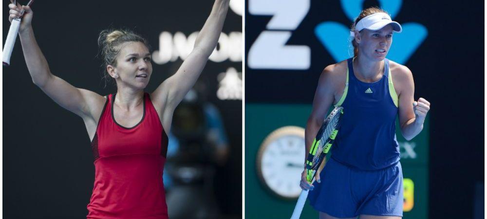 SIMONA HALEP VS CAROLINE WOZNIACKI, FINALA AO // Cifrele unui meci ISTORIC! Prima data dupa 6 ani cand numarul 1 mondial se joaca intr-o finala de Grand Slam
