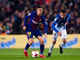 Coutinho i-a cucerit pe fanii Barcelonei inca de la debut! Ce a putut sa-i faca unui adversar la prima faza! VIDEO