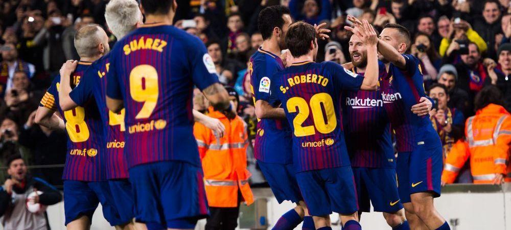 "Aroganta uriasa a unui star de la Barca dupa victoria cu Espanyol: ""I-am trimis la locul lor! S-au bucurat in tur de parca erau calificati!"""
