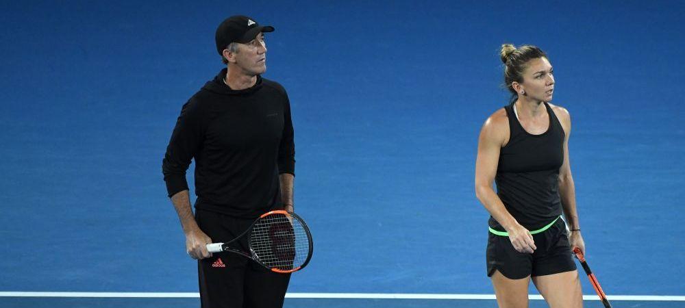 """SIMONA HALEP LA AUSTRALIAN OPEN // Cahill: """"Sunt cu adevarat mandru de ea! N-am mai vazut-o pe Simona asa!"""" Ce spune despre finala cu Wozniacki"""