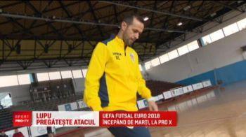 """""""Messi s-ar descurca la fotbal in sala! Ronaldo, nu!"""" Lupu conduce """"haita tricolora"""" la Europeanul de futsal! Toate meciurile, IN DIRECT LA PROX"""
